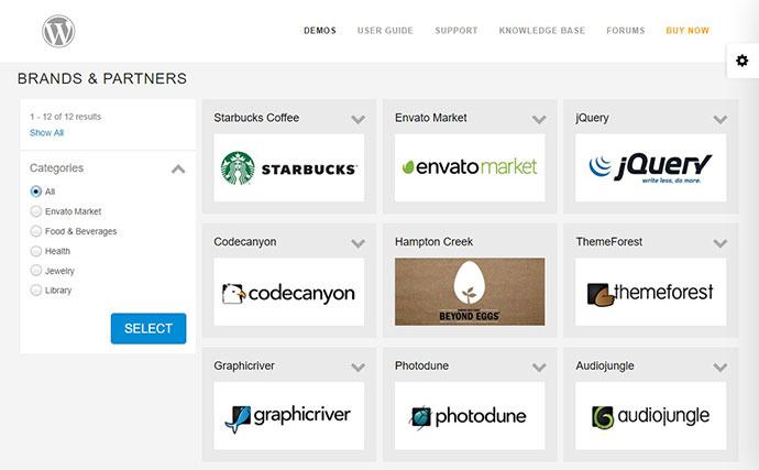 Super Logos Showcase for WordPress