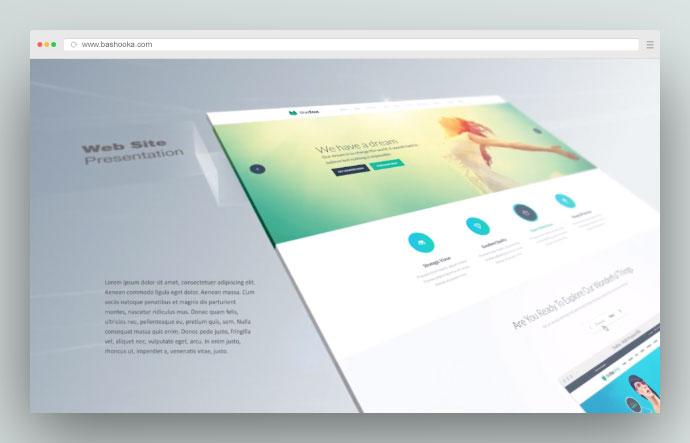 Drama Website Promo