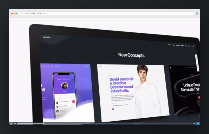 Website Commercial