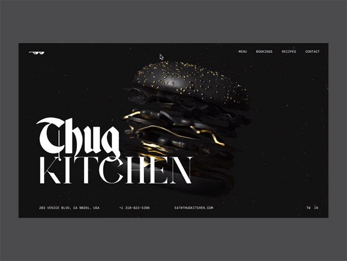 Thug Kitchen Restaurant Concept