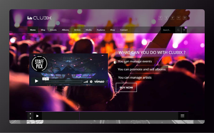 25 Wordpress Themes to Create Website for Your Club – Bashooka