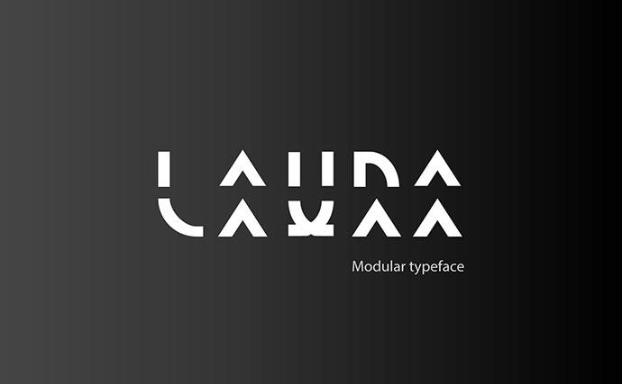 Laura  Modular Typeface