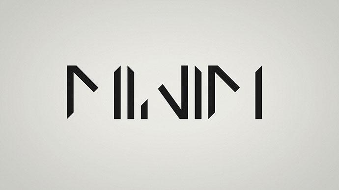 Minim Typeface
