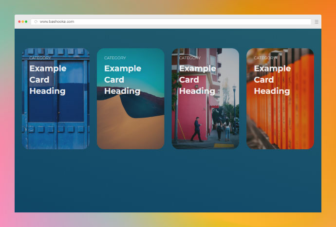 CSS Filter Cards
