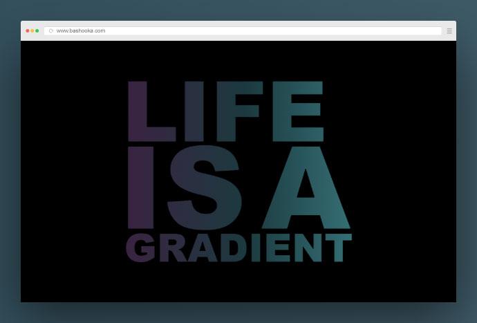 text gradient