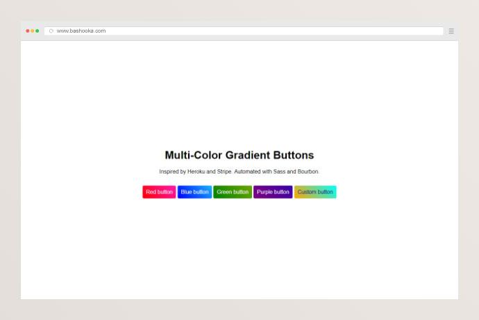 Multi-Color Gradient Buttons