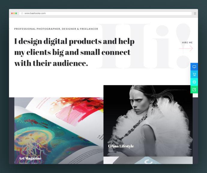 Elementor Creative Portfolio WordPress Theme