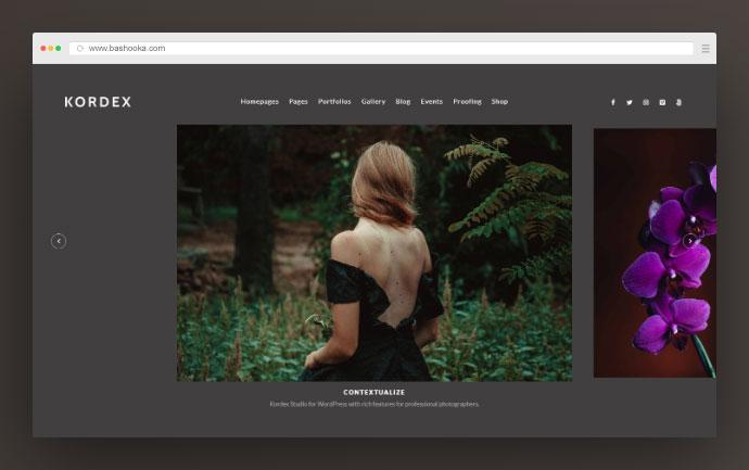 Kordex | Studio Photography for WordPress