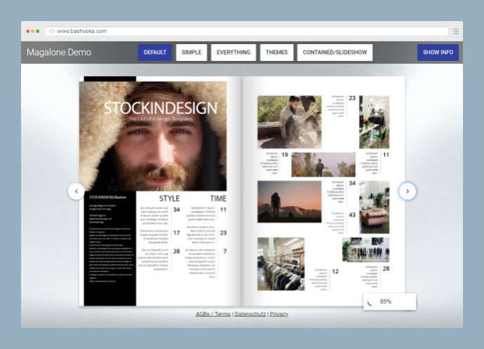 Magalone Flipbook for WordPress