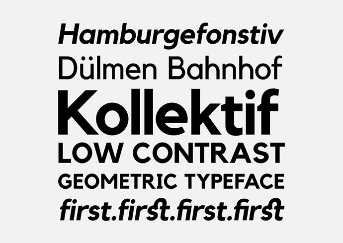 Kollektif Typeface | Free