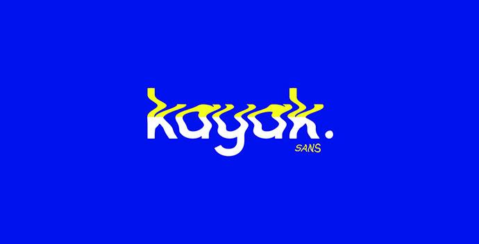 Kayak Sans - Free Typeface