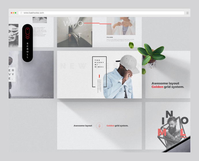 Every - Free Minimal Powerpoint & Keynote Template