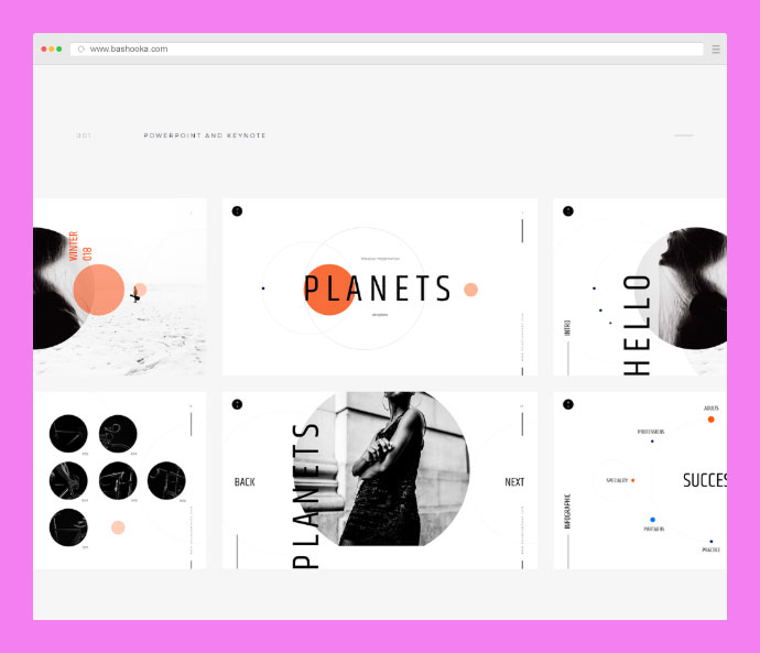 Planets - Free Presentation Template