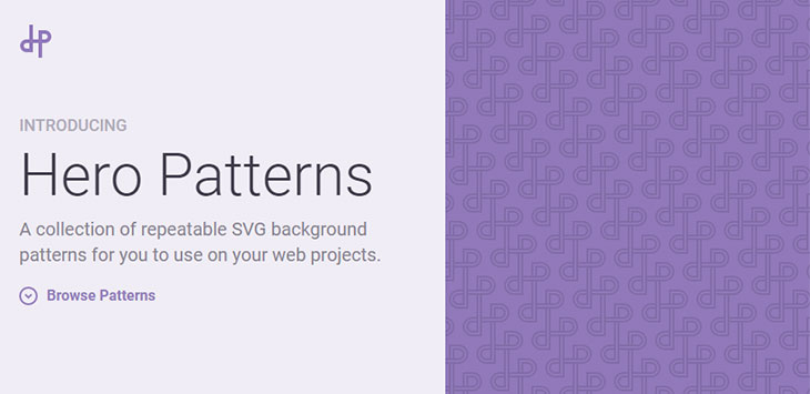 20+ Free SVG & CSS Background Pattern Resources