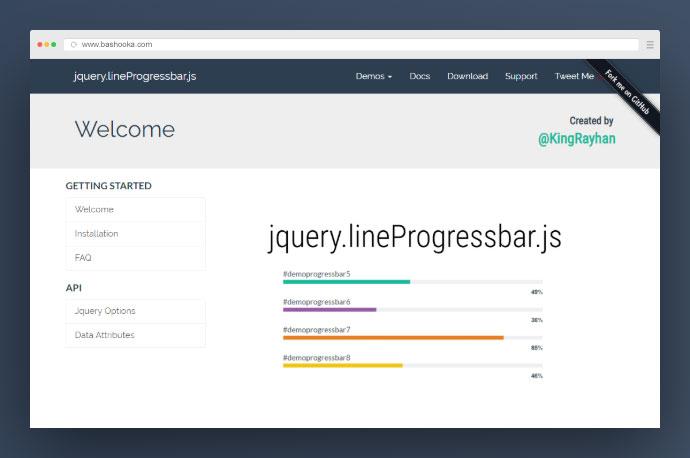 LineProgressbar