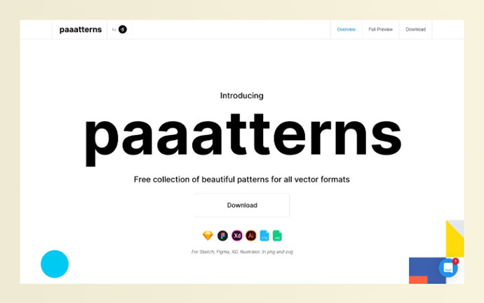 Free collection of beautiful patterns