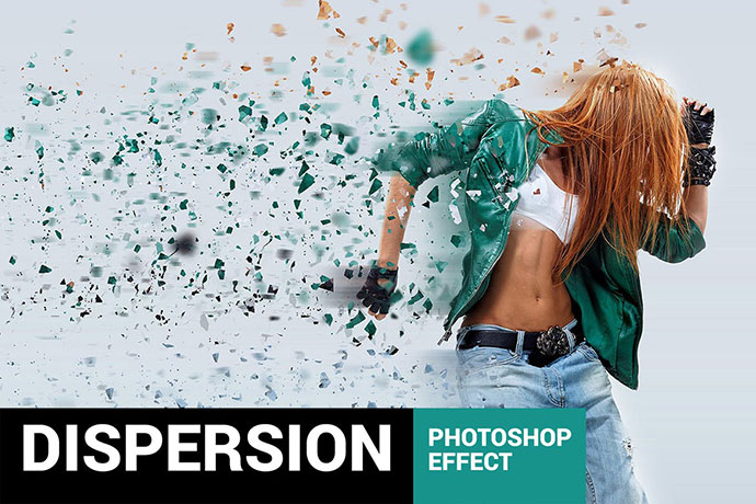 Elementum - Dispersion Photoshop Action