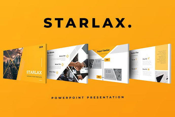 Starlax Pitch Deck Powerpoint Presentation