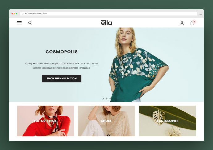 25 Perfect Shopify Theme Designs For Dropshipping – Bashooka