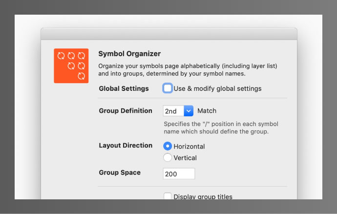 Symbol Organiser
