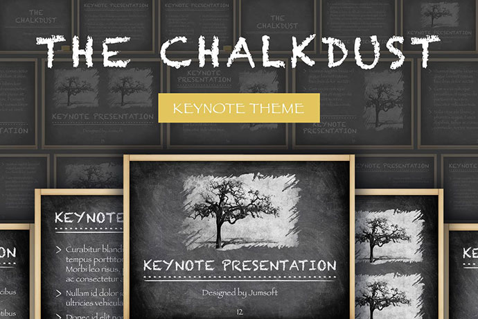 The Chalkdust Keynote Template