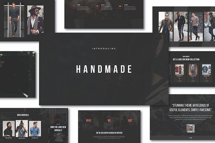 Hipster Handmade Keynote