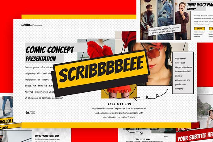 SCRIBBLE - Keynote