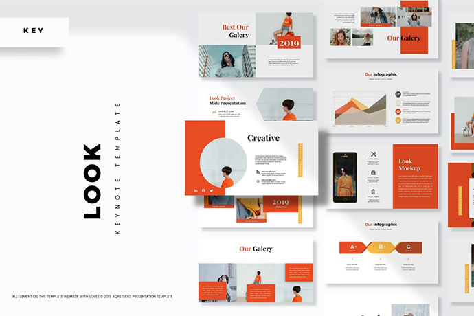 Look - Keynote Template