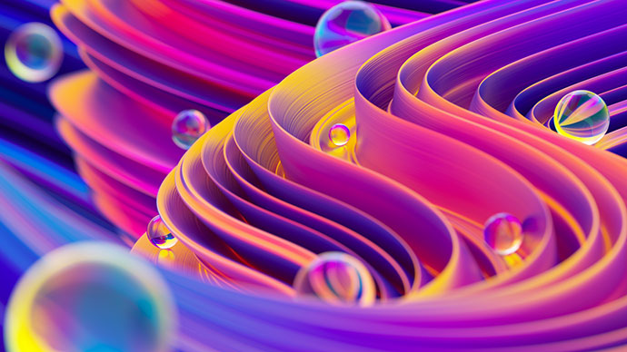 Liquid Shapes Project (+Freebie)