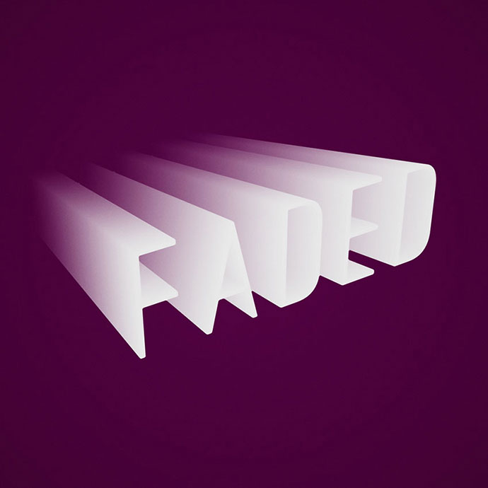 How to Create a Flat, Faded 3D Text Effect in Adobe Photoshop
