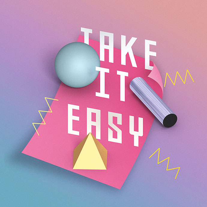 How to Create a Retro 3D Displaced Text Effect in Adobe Photoshop