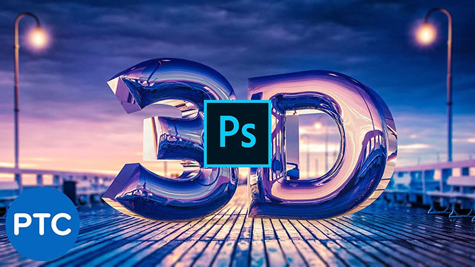 Create A Realistic Chrome Text Effect In Photoshop 3d