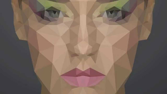 Low Poly Portrait In Photoshop (tutorial)