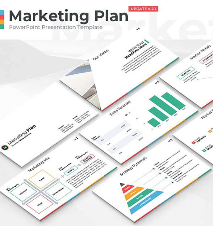 Marketing Plan - PowerPoint Presentation Template