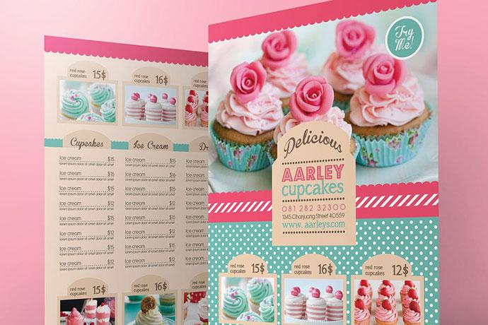 Pastry / Cake Menu