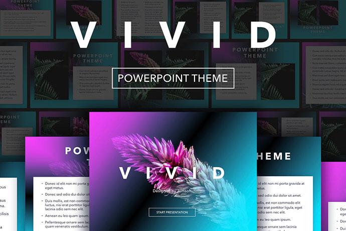 Vivid PowerPoint Theme
