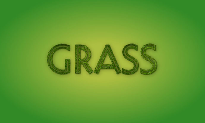 Grass text effect with variable fonts! Using Decovar: Seriously all the hard work is done by the font designe
