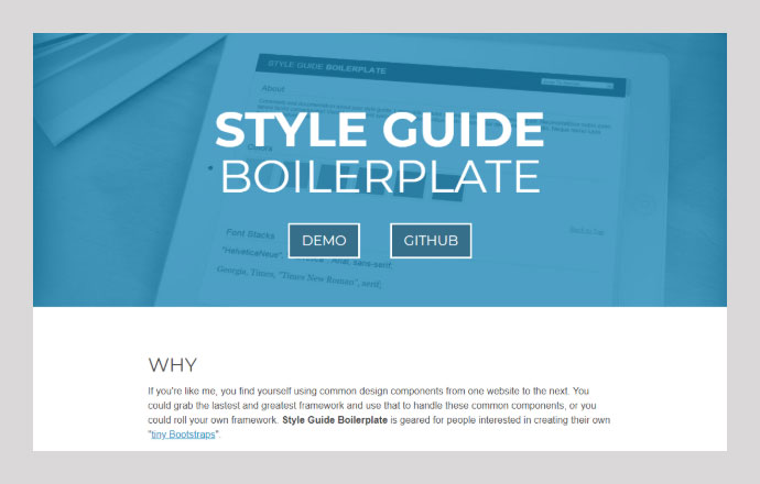 Style Guide-Boilerplate