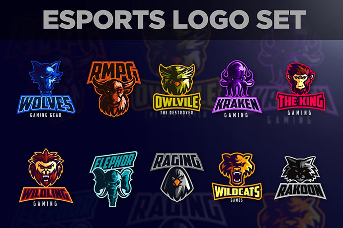 50 Cool Ai Eps Esports Logo Templates For Personal Team Branding Bashooka