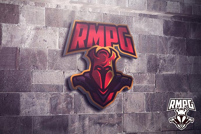 Hell Knight Mascot Esports Logo