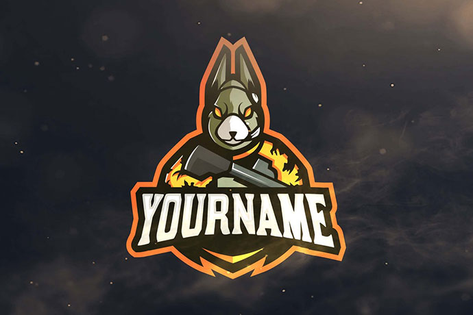 Rabbit Sport and Esports Logos
