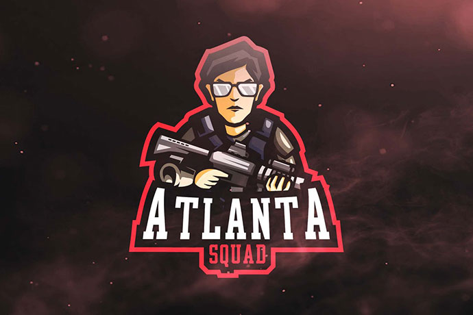Atlanta Squad Sport and Esports Logos