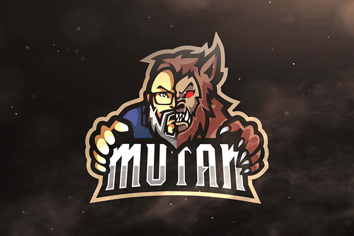 Mutan Sport and Esports Logo Template