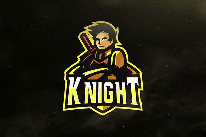 Knight Sport and Esports Logos