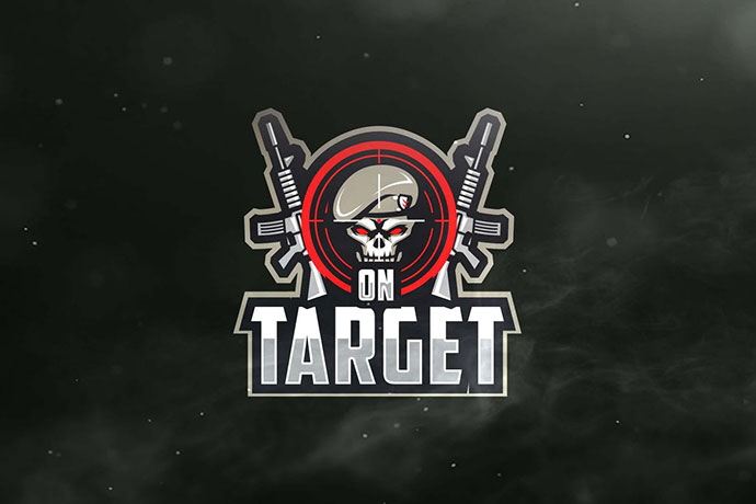 On Target Sport and Esports Logos