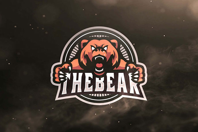 The Bear Sport and Esports Logo