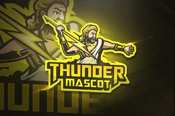 Thunder Mascot