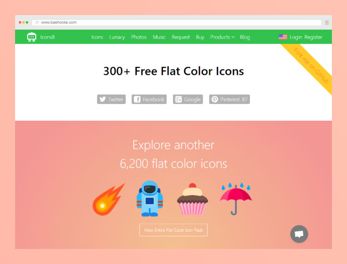 15 Best Places to Download Free Flat Icons 2019 – Bashooka