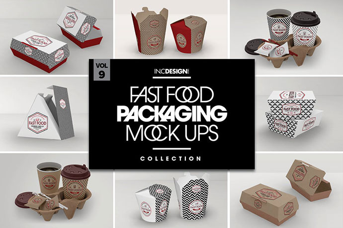 Take Out Packaging Mockups
