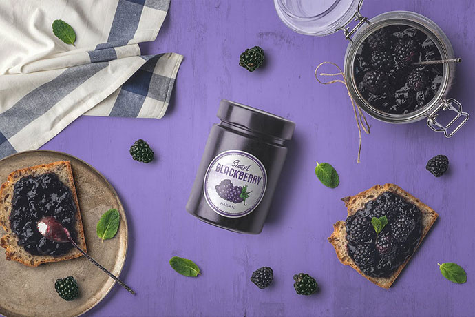 Jam Jar Packaging Mockups